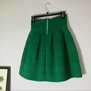 Girls from Savoy Tiered Kelly green skirt